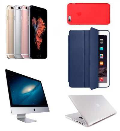 iPhone iPad iPod iMac MacBook